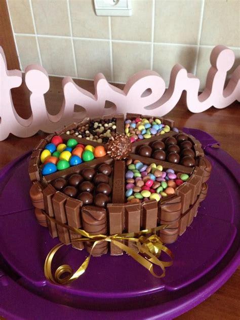 chocolats avec kitkat mms maltesers smarties