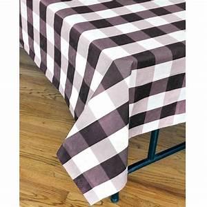 Nappe Noire Papier : havercamp nappe de papier doubl e motif carreaux noir party shop ~ Teatrodelosmanantiales.com Idées de Décoration