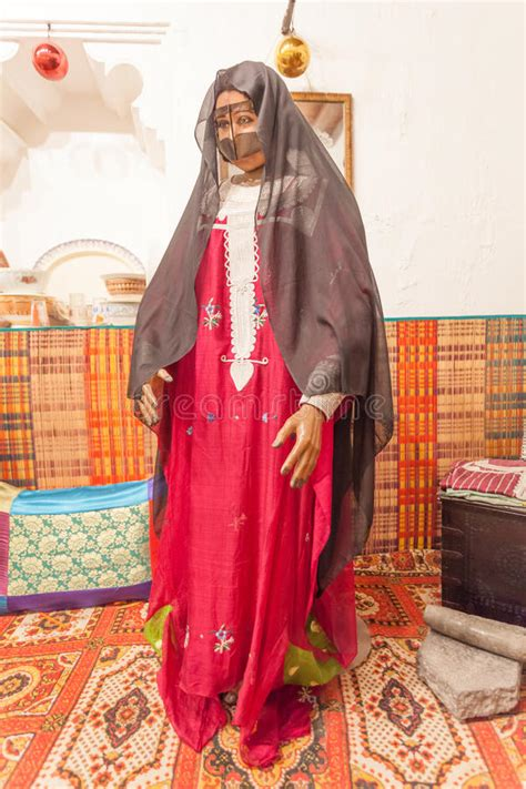 Bedouin Woman In Traditional Dress Editorial Stock Image