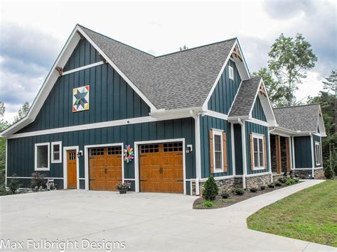 craftsman farmhouse plans one or two story craftsman house plan country craftsman house plan