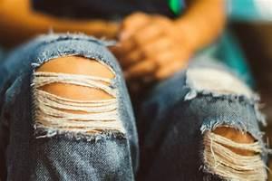 Comment Réparer Un Liner Déchiré : comment r parer un jean trou ou d chir look mode ~ Maxctalentgroup.com Avis de Voitures
