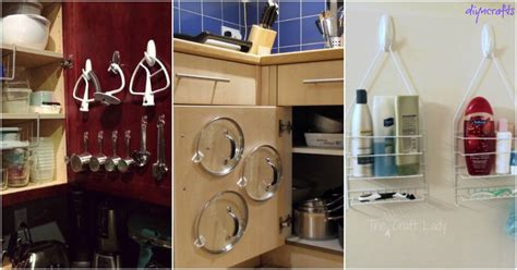 diy kitchen design software 30 wonderful ways to organize your with command hooks 6841