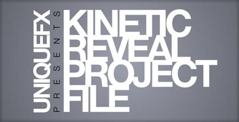 Cinema Titles Template Torrent by Kinetic Reveal By Uniquefx Videohive