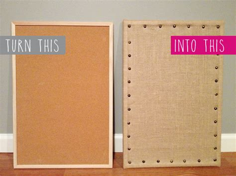 burlap covered furniture sohl design diy burlap message board