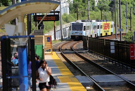 maryland light rail three light rail stations reopen after a week despite