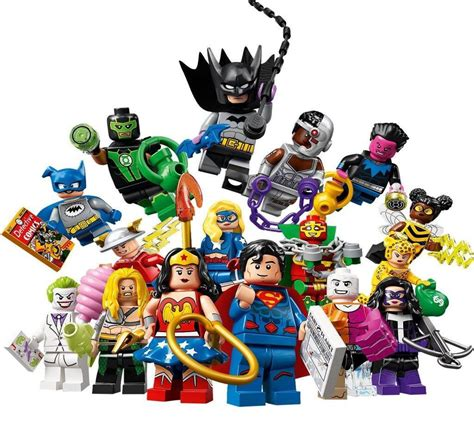 lego dc super heroes collectible minifigures officially