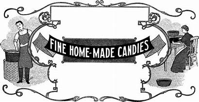 Candy Homemade Label Thegraphicsfairy