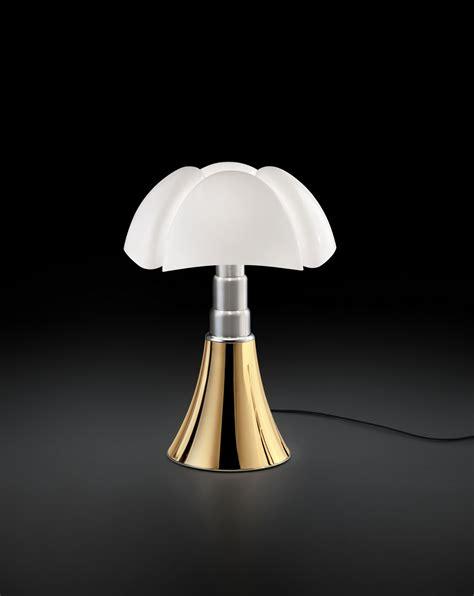 height adjustable table lamp pipistrello  years  martinelli luce design gae aulenti