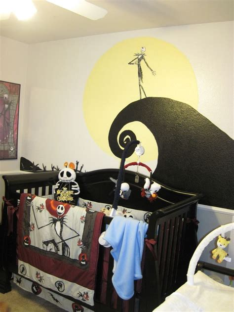 nightmare before themed bedroom nightmare before baby room decorating