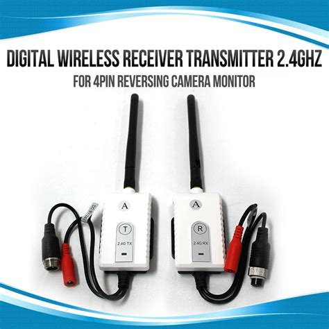 Digital Wireless Receiver Transmitter 2.4GHz for 4PIN