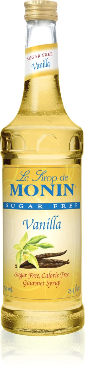 Made from the extracts of premium vanilla beans for a pure yet complex flavor, sugar free torani vanilla syrup is rich and robust. Monin Sugar Free Vanilla Syrup - Ammirati Coffee
