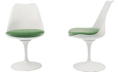 saarinen white tulip side chair hivemodern