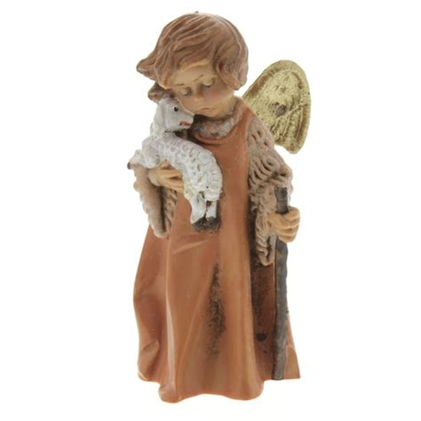 fontanini angel with lamb nativity figurine 5 quot scale the
