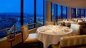 Downtown LA Restaurants The Westin Bonaventure Hotel