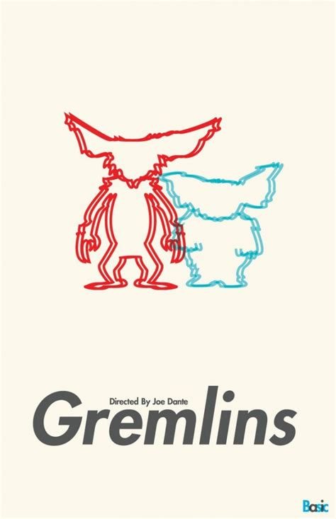 gremlins imgur movie oc posters 1984 poster movies perhaps spooky popular christmas most popcorn festive spirit awesome these