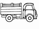 Coloring Truck Pages Coloringpages1001 sketch template