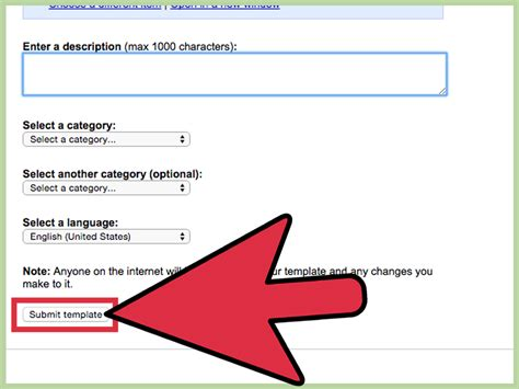 How Create Template Google Docs Steps With