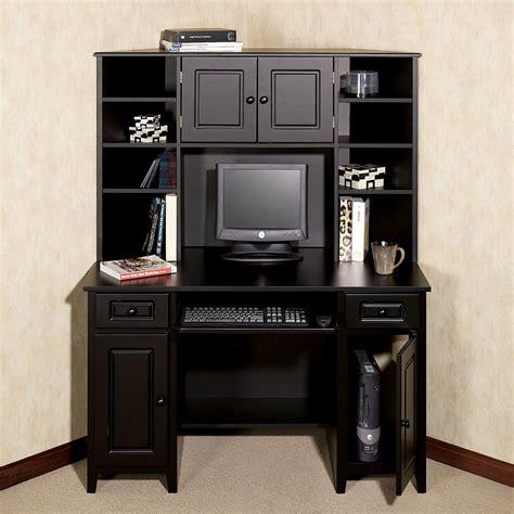 black desk with hutch small black desk with hutch corner desk black target