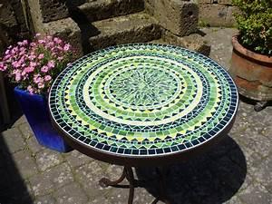 Mosaik Fliesen Rund : gartentisch rund mosaik wohnkultur gartentisch rund mosaik 43214 haus renovieren galerie haus ~ Watch28wear.com Haus und Dekorationen