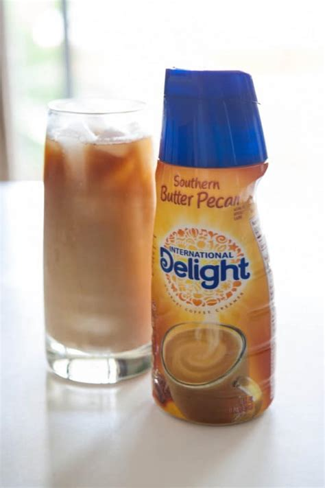 Nestle coffee mate coffee creamer, irish creme, liquid creamer singles, non dairy, no refrigeration, box of 50 singles (pack of 4). Eclectic Recipes • Butter Pecan Iced Coffee