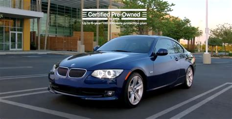 Bmw Certified Pre-owned Service Gets Funny Commercial