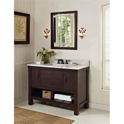 kitchen designs images fairmont designs 48 quot napa open shelf vanity aged 1506