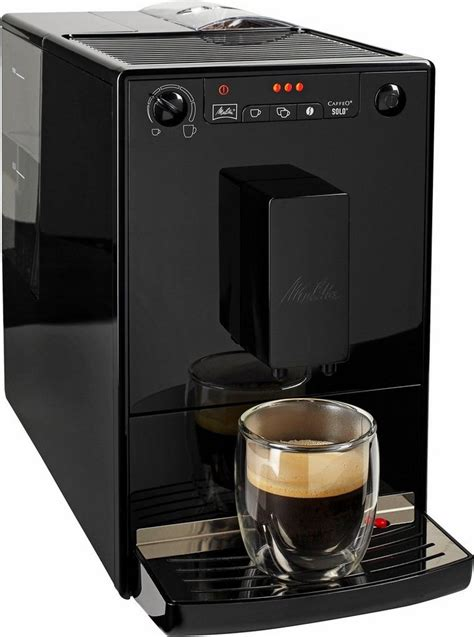 melitta kaffeevollautomat melitta kaffeevollautomat caffeo 174 174 black e 950 222 1 2l tank kegelmahlwerk