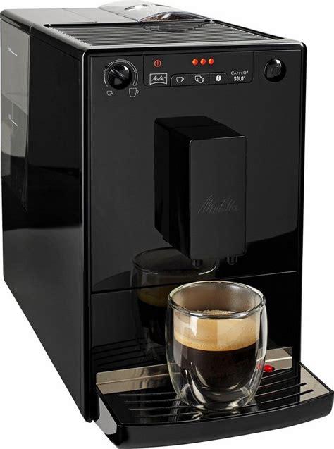 Melitta® Kaffeevollautomat Caffeo® Solo® Pure Black E 950
