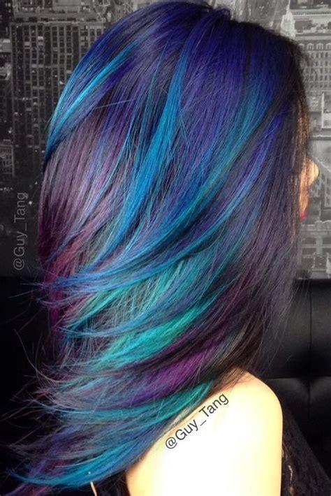 fabulous rainbow hair color ideas hair hair styles
