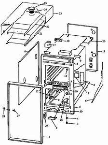 Caloric Gas Wall Oven Parts