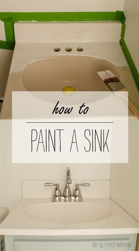 how to paint a bathroom sink how to paint a sink sinks and house