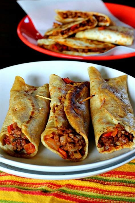 authentic mexican fried tacos recipe mexican food