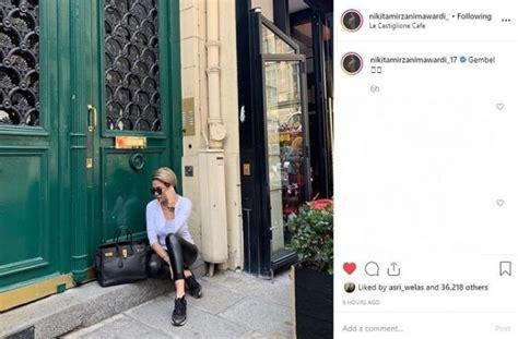 Ngemper Paris Nikita Mirzani Pakai Tas Mewah Senilai