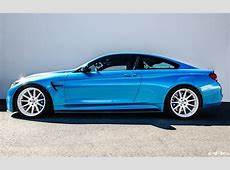 Mexico Blue BMW M4 by EAS