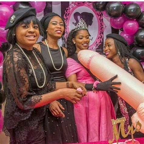 Nigerian Bride Gets A Giant Inflatable Penis Shaped