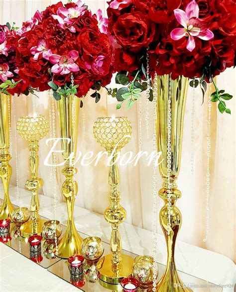 vases flowers centerpiece tall glass centerpiece vases