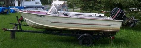 Boat Trailers For Sale Peterborough Ontario by Boat Motor And Trailer For Sale From Peterborough Ontario