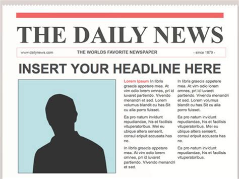 editable newspaper template docs editable powerpoint newspapers creating newsp
