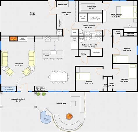 40x60 Garage Floor Plans by Best 25 Attached Garage Ideas On Detached