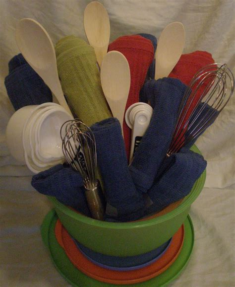 kitchen gifts ideas gift baskets on towel cakes kitchen towel