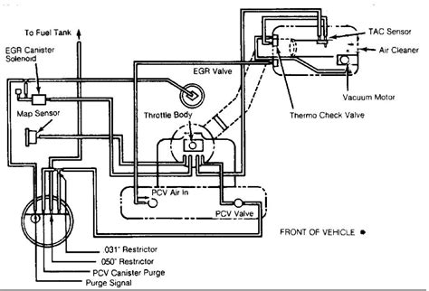 1990 Jeep Wrangler 4x4 Vacuum Diagram by Renix Vacuum Diagrams For The Engine Bay Jeep Forum