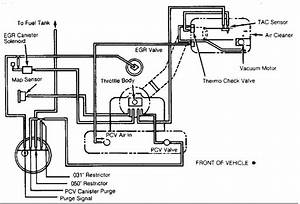 Renix Vacuum Diagrams For The Engine Bay