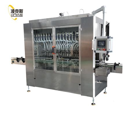 electrical chemical multi nozzles sterile liquid mixing filler filling machine  ml small