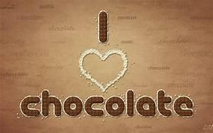 I Love Chocolate wallpapers | I Love Chocolate stock photos