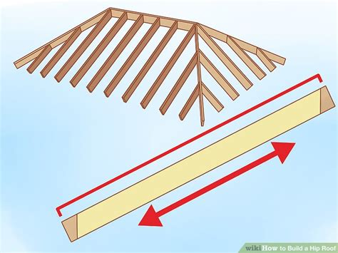Build A Hip Roof by How To Build A Hip Roof 15 Steps With Pictures Wikihow