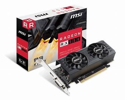 550 Rx Radeon Msi Card Graphics Lp