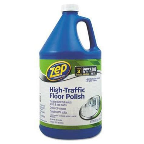 zep 174 commercial high traffic floor polish