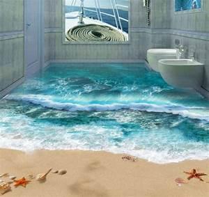 Bodenbelag Für Badezimmer : 3d bodenbelag aus epoxidharz innovative technologie und naturmotive ~ Sanjose-hotels-ca.com Haus und Dekorationen