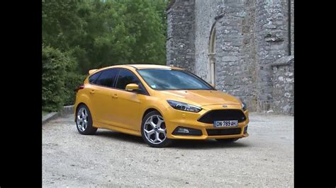 ford focus st 2 0 ecoboost essai ford focus st 2 0 ecoboost 250 2015