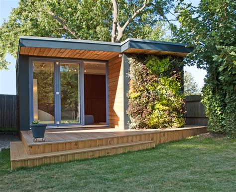 Turning Small Gardens Into Useable Office, Storage And Gardening Space